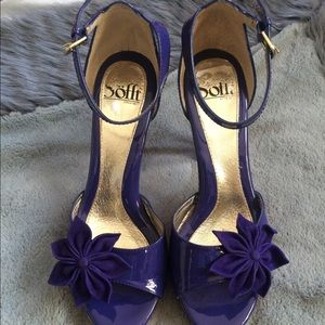 Soft Purple Patent Leather Heels 8.5